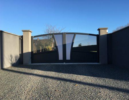 Portail Aluminium - Performance Habitat